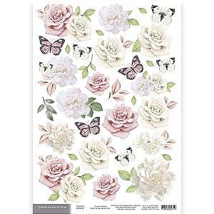 Encanto de Flores - Recortes II