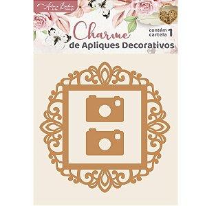 Apliques MDF Molduras - Encanto de Flores
