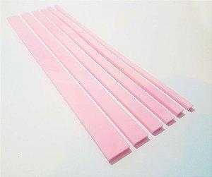 Gabarito para Encadernação Rosa Bebê - 6 Réguas | 4mm