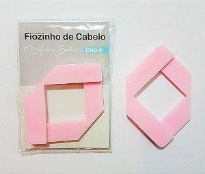 Fiozinho de Cabelo Duplo Rosa Bebê - 3,5 mm e 6 mm