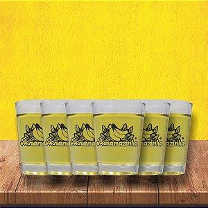 Combo - 6 copos de shot Bananazinha