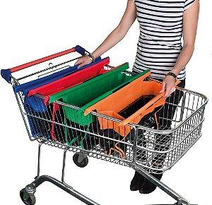 Kit de sacola de compras ShopMax | Sacola de compras para carrinho de mercado