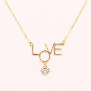 GR-0158-1 ONI GARGANTILHA LOVE CRISTAL
