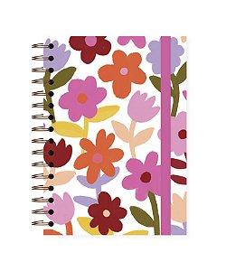 Floral | Caderno Colegial • 180 folhas