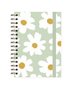 Floral Pistache | Caderno A4 ∙ 180 folhas