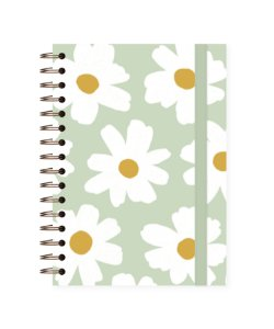 Floral Pistache| Caderno Colegial ∙ 90 folhas