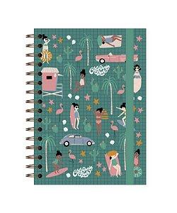 Califórnia | Caderno Colegial ∙ 180 folhas