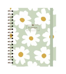 Floral Pistache | Planner ∙ Anual