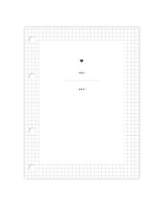 Planner Semanal | Refil