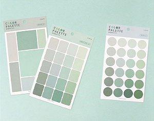Palette Green| Adesivos