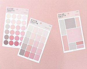 Palette Rose| Adesivos