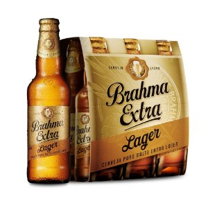 Cerveja Brahma Extra Long Neck 355ml (6 unidades)