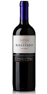 Vinho Concha y Toro Reservado Malbec 750ml
