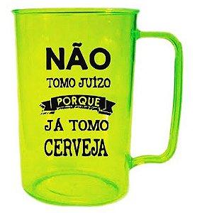 Caneca SOS BEBIDA 400ml Verde