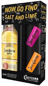 Tequila José Cuervo Ouro 750ml + 2 copos de shot