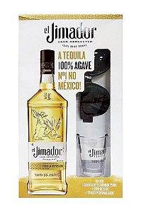 Tequila El Jimador Ouro 750ml + óculos e copo de shot