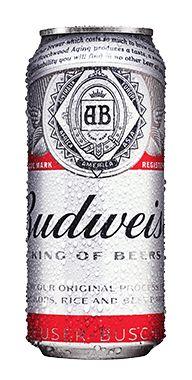 Cerveja Budweiser Latão 475ml