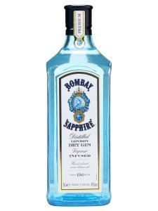 Gin Bombay Sapphire Dry London 1l
