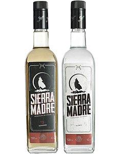 Tequila Sierra Madre 750ml Ouro + Prata (2 unidades)