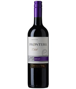 Vinho Concha y Toro Frontera Merlot 750ml