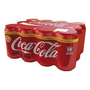 Refrigerante Coca-cola 350ml (12 unidades)