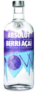 Vodka Absolut Berri Açaí 1l