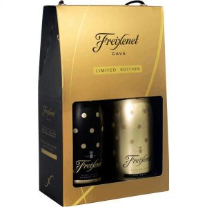 Kit Freixenet Cordon Negro 750ml + Carta Nevada 750ml