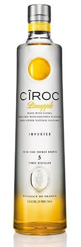 Vodka Ciroc Pineapple 750ml