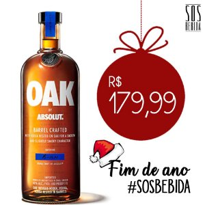 Vodka Absolut OAK 1l
