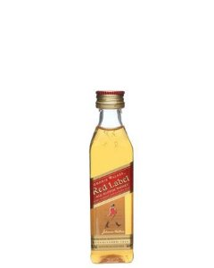Whisky Johnnie Walker Red Label 8 anos 50ml