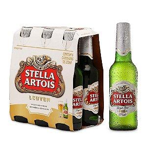 Cerveja Stella Artois Long Neck 275 ml (6 unidades)
