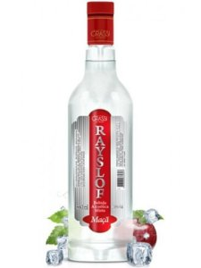 Vodka Rayslof Maçã 880ml