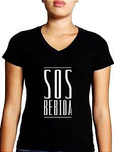 Baby Look SOS BEBIDA