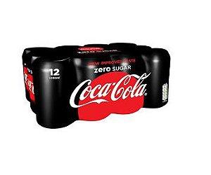 Refrigerante Coca-cola zero 350ml (12 unidades)