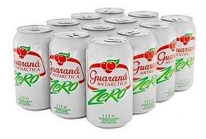 Refrigerante Guaraná Antarctica Zero 350ml (12 unidades)