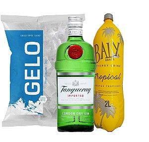 Gin Tanqueray + Baly 2l + Gelo