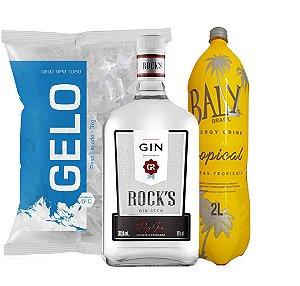 Gin Rocks + Baly 2l + Gelo