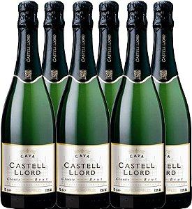 Espumante Cava Castell Llord Brut/Demi Séc 750ml (caixa)