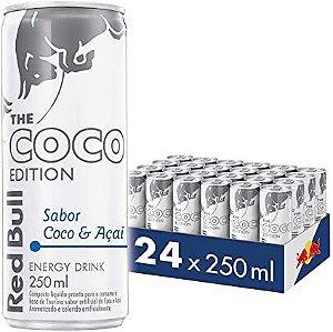 Energético Red Bull Coco e Açaí 250ml (24 unidades)