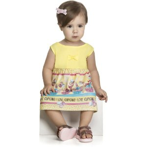 Vestido Cupcake  - Tam 3 -  Kely Kety