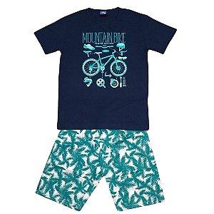 Conjunto Menino Mountain Bike - Tam 8 - Pipa