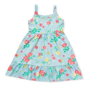 Vestido Flores - Tam 4 - Kely Kety