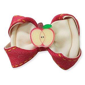 Laço de Cabelo Fruta - Maçã