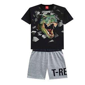 Conjunto Masc T-Rex  - Tam 8 - Kyly