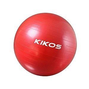 Bola Ginástica  Vermelha 55Cm Kikos AB3630