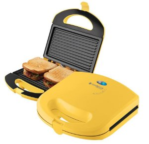 SANDUICHEIRA CADENCE   MINI GRILL COLORS AMARELO