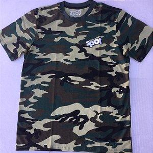 Camiseta Spot Exercito Selva