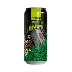 Cerveja EverBrew Juicy IPA Hop Hammer 473ml