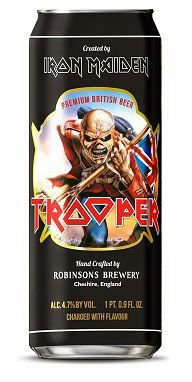 Cerveja The Trooper Premium British Beer Lata 500ml