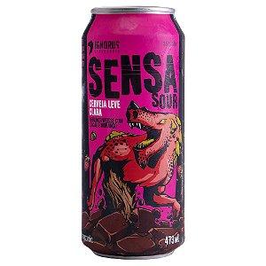 Cerveja Ignorus Sensasour Berliner Weisse Lata 473ml